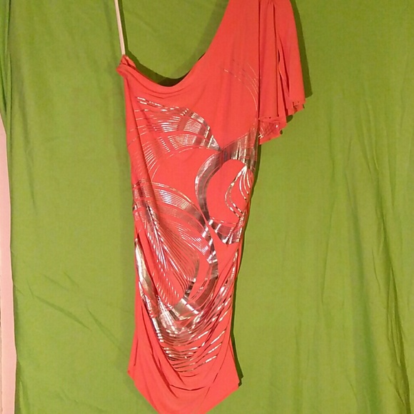 Demore Dresses & Skirts - One Shoulder Dress